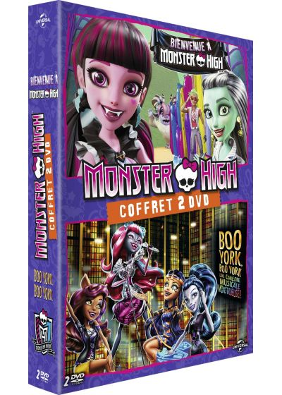 Monster High : Bienvenue à Monster High + Boo York, Boo York (Pack) - DVD