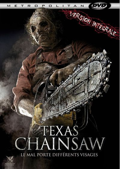 Texas Chainsaw (Version intégrale) - DVD