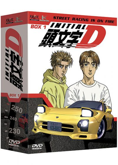 Initial D - Coffret 1/2 (Pack) - DVD