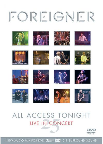 Foreigner - All Access Tonight - Live In Concert - DVD
