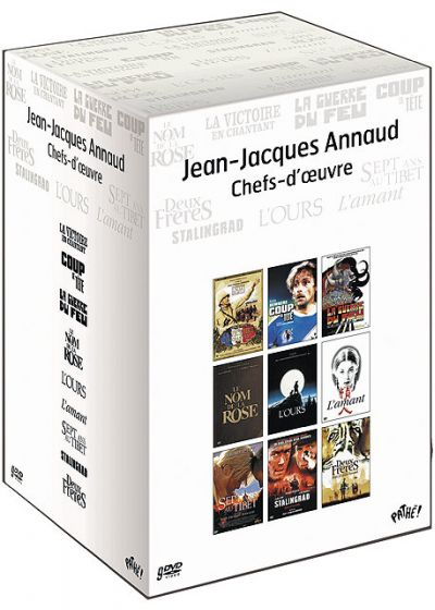 Jean-Jacques Annaud - Chefs-d'oeuvre (Pack) - DVD