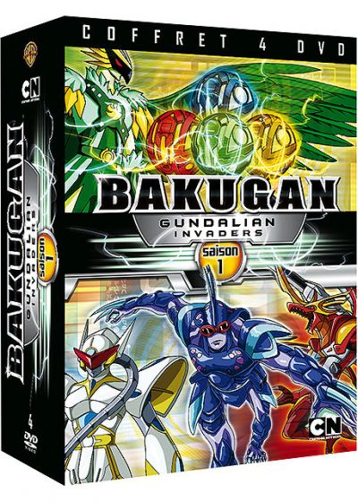 Bakugan Battle Brawlers : Gundalian Invaders - Saison 1 - DVD