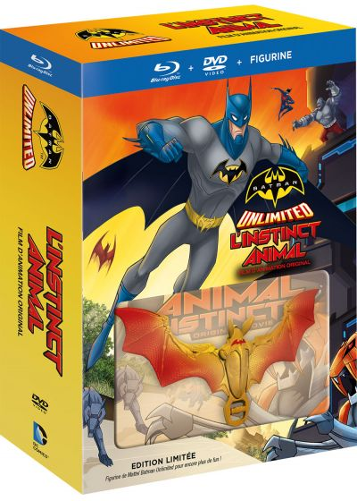 Batman Unlimited : L'instinct animal (Édition Limitée Blu-ray + DVD + Figurine) - Blu-ray