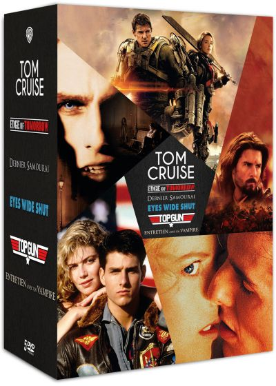 Tom Cruise : Edge of Tomorrow + Le dernier Samouraï + Eyes Wide Shut + Top Gun + Entretien avec un vampire (Pack) - DVD