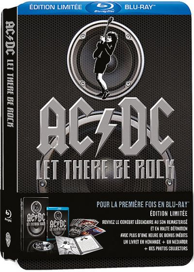 AC/DC - Let There Be Rock (Édition Collector Limitée) - Blu-ray