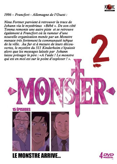 Monster - Box 2/5 - DVD