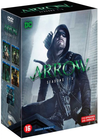 Arrow - Saisons 1 - 5 - DVD