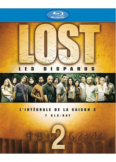 Lost, les disparus - Saison 2 - Blu-ray
