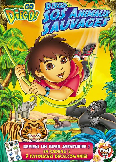 Go Diego! - S.O.S. animaux sauvages - DVD