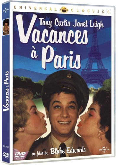 Vacances à Paris - DVD