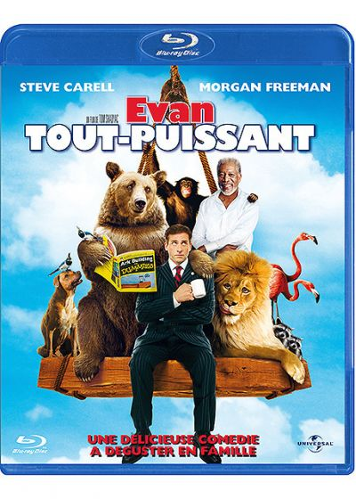 Evan tout-puissant - Blu-ray