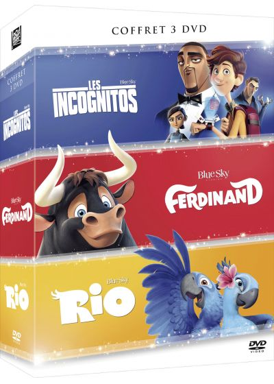 Les Incognitos + Ferdinand + Rio - Coffret 3 films - DVD