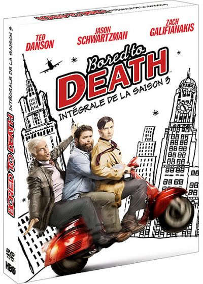 Bored to Death - Saison 3 - DVD
