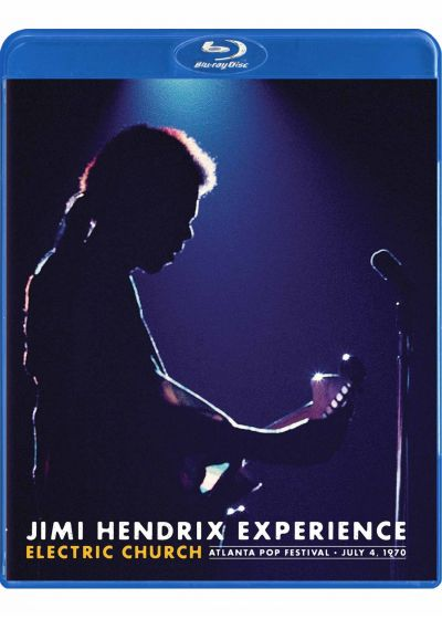 Jimi Hendrix Experience : Electric Church (talanta Pop Festival, July 4, 1970) - Blu-ray