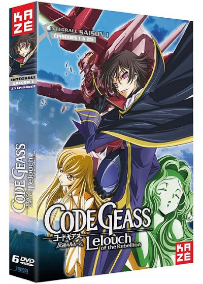 Code Geass - Lelouch of the Rebellion - Intégrale Saison 1 - DVD