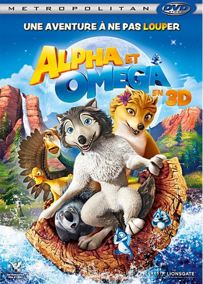 Alpha & Omega (Version 3-DBlu-ray) - DVD