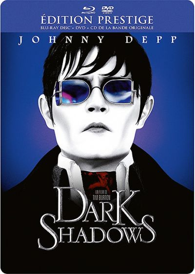 Dark Shadows (Édition Prestige boîtier SteelBook - Combo Blu-ray + DVD + Copie Digitale) - Blu-ray
