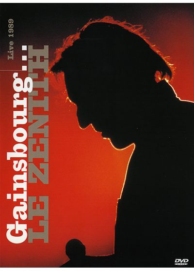 Gainsbourg, Serge - Gainsbourg... Le Zénith - Live 1989 - DVD