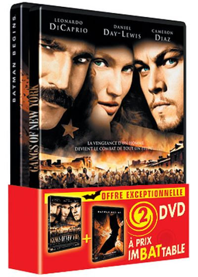 Batman Begins + Gangs of New York (Pack) - DVD