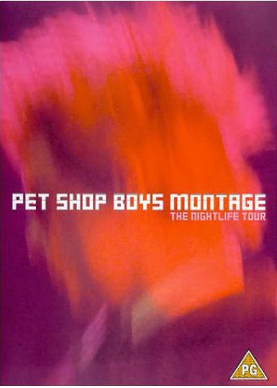 Pet Shop Boys - Montage, The Nightlife Tour - DVD