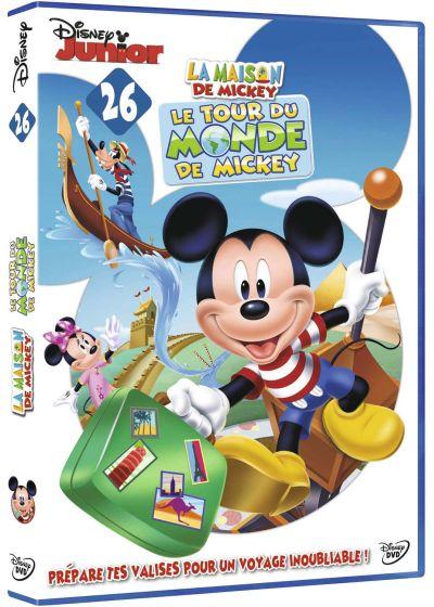 dvdfr la maison de mickey 26 le tour du monde de mickey dvd