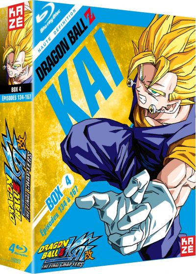 Dragon Ball Z Kai - Box 4/4 : The Final Chapters - Blu-ray