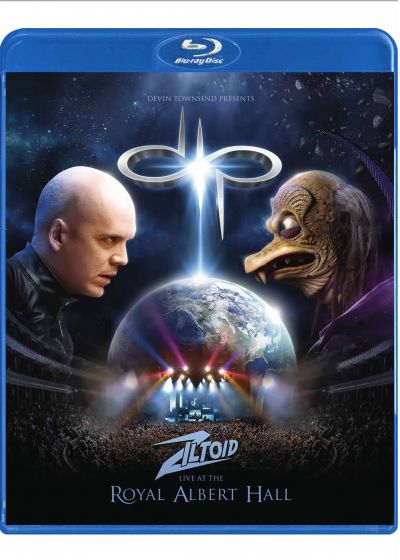 Ziltoid : Live at the royal Albert Hall - Blu-ray