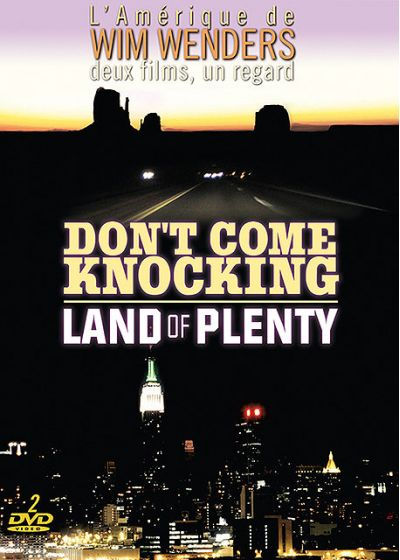 Don't Come Knocking + Land of Plenty (Pack) - DVD