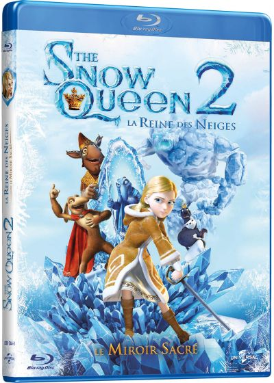 The Snow Queen 2, La Reine des Neiges : Le Miroir Sacré (Combo Blu-ray 3D + Blu-ray 2D) - Blu-ray 3D
