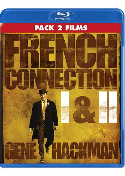 French Connection + French Connection II (Pack 2 films) - Blu-ray