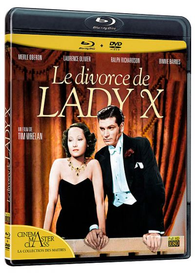 Divorce de Lady X (Combo Blu-ray + DVD) - Blu-ray