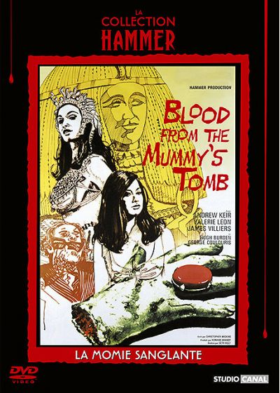 Blood from the Mummy's Tomb (La momie sanglante) - DVD