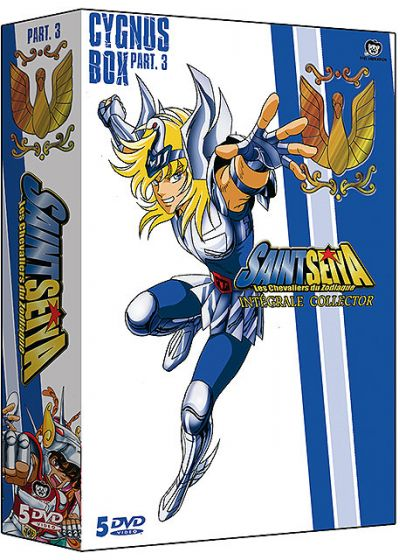 Saint Seiya - Les chevaliers du Zodiaque - Intégrale Collector (Version non censurée) - Cygnus Box Part. 3 (Édition Collector) - DVD