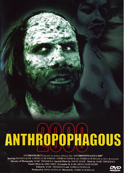 Anthropophagous 2000 (Édition Collector Limitée) - DVD