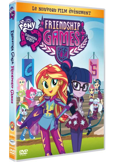 Equestria Girls 3 : Friendship Games - DVD