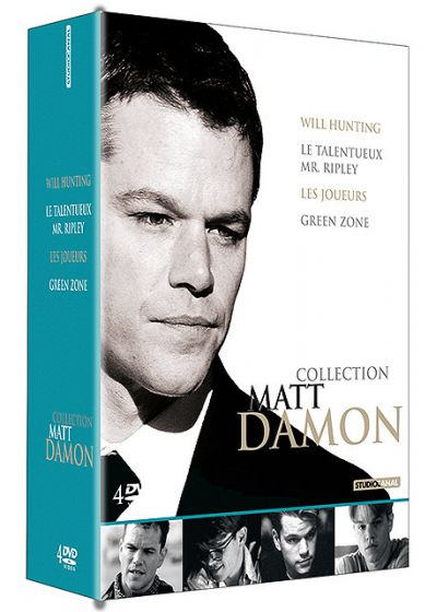 Collection Matt Damon - Coffret - Will Hunting + Le talentueux Mr Ripley + Les joueurs + Green Zone (Pack) - DVD