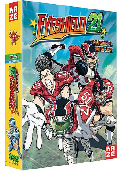 Eyeshield 21 - Saison 3 - Box 1/2 - DVD