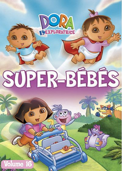 Dora l'exploratrice - Vol. 16 : Super-Bébés - DVD