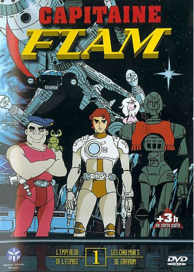 Capitaine Flam - Vol. 1 - DVD