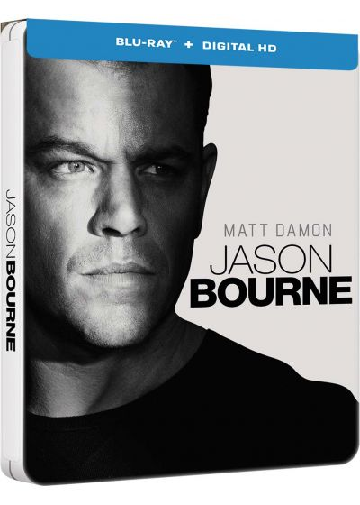 Jason Bourne (Blu-ray + Copie digitale - Édition boîtier SteelBook) - Blu-ray