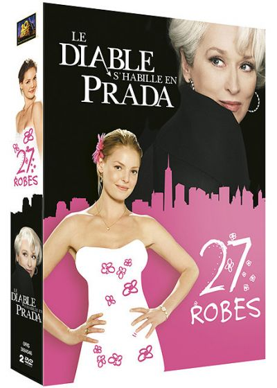 27 robes + Le diable s'habille en Prada (Pack) - DVD