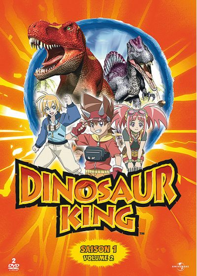 Dinosaur King - Saison 1 - Volume 2 - DVD