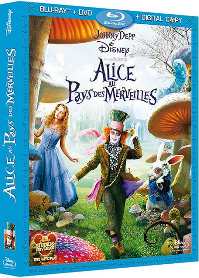 Alice au Pays des Merveilles (Combo Blu-ray + DVD + Copie digitale) - Blu-ray