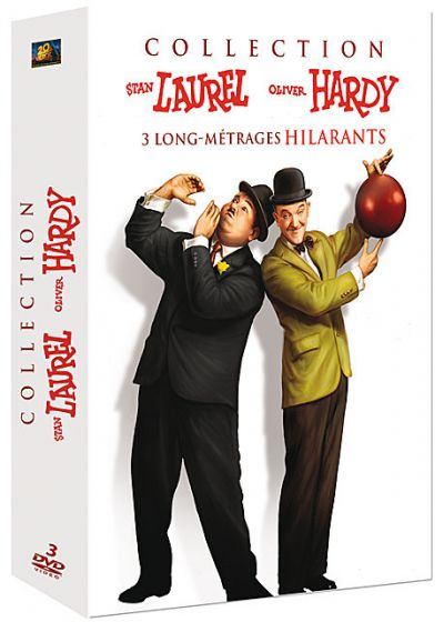 Laurel & Hardy - 3 films (Pack) - DVD