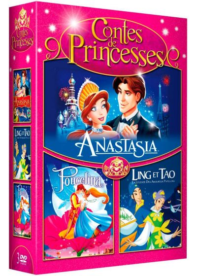 Contes de princesses - Coffret 3 DVD (Pack) - DVD