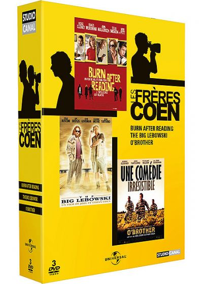 Les Frères Coen - Coffret - Burn After Reading + The Big Lebowski + O'Brother (Pack) - DVD