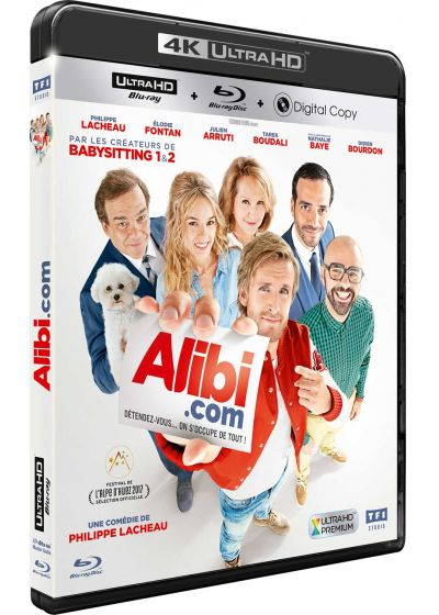 Alibi.com (4K Ultra HD + Blu-ray + Digital HD) - Blu-ray 4K
