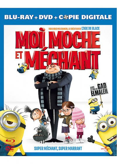 Moi, moche et méchant (Combo Blu-ray + DVD + Copie digitale) - Blu-ray