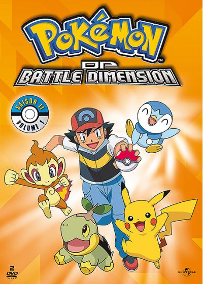 Pokémon - DP - Battle Dimension (Saison 11) - Volume 1 - DVD