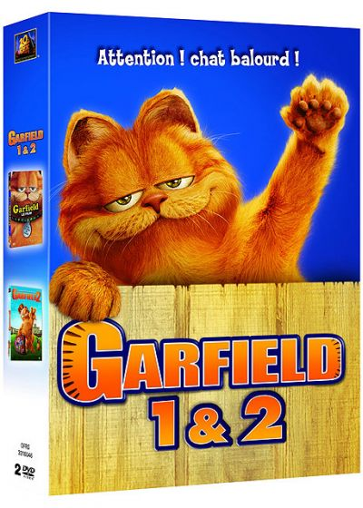 Garfield - Le film + Garfield 2 (Pack) - DVD